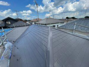 屋根塗装 塗り替え 施工完了 さいたま市
