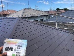屋根塗装 施工後 塗り替え 塗装 さいたま市塗装工事