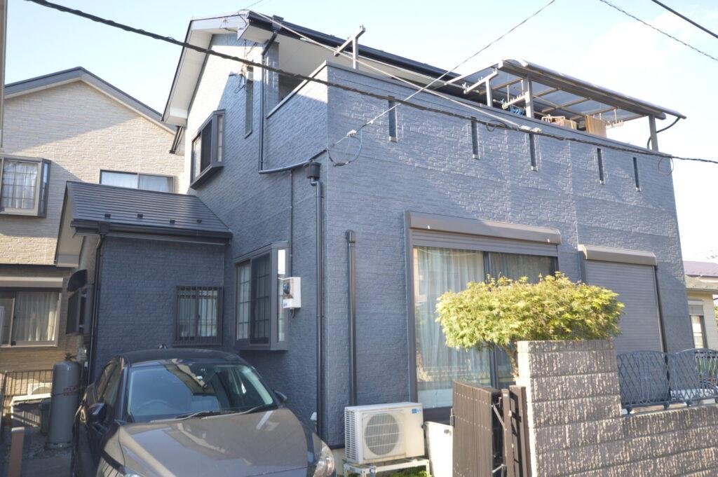 さいたま市桜区 屋根外壁塗装工事 水性ペリアート