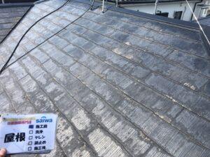 屋根塗装 施行前