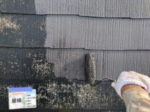 屋根塗装 中塗り さいたま市 塗装工事 外壁塗装
